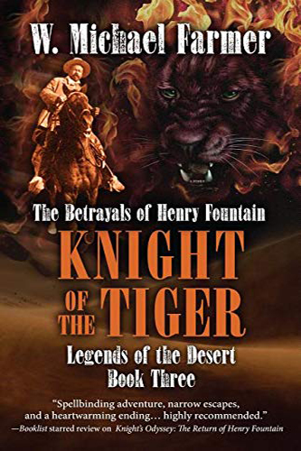 Knight of the Tiger Book Cover