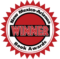 New Mexico - Arizona Book Award Winner Badge - Large - Five Star