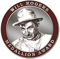 Will Rogers Book Award Medallion - Medium