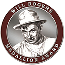 Will Rogers Book Award Medallion
