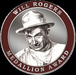 Will Rogers Book Award Medallion